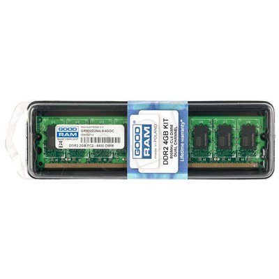GOODRAM DDR2 4096MB PC800 DUAL 2 x 2048 CL6
