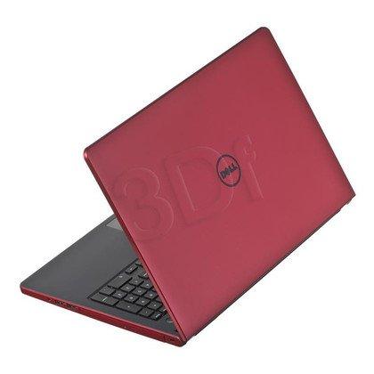"""DELL Inspiron 5558 i3-5005U 4GB 15,6"""" HD 1000GB HD5500 BSY Czerwony (5558-1355) 2Y NBD"""