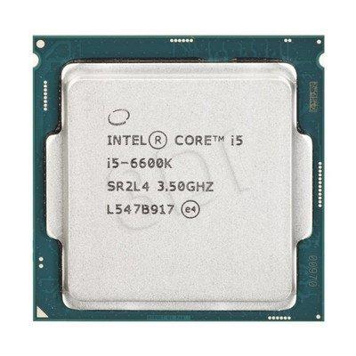 Procesor Intel Core i5 6600K 3500MHz 1151 Oem
