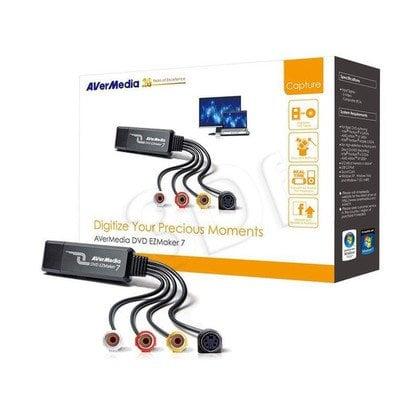 AVERMEDIA REJESTRATOR OBRAZU DVD EZMAKER 7 USB