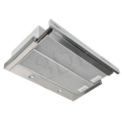 Okap Podszafkowy Akpo WK-7 LIGHT GLASS 60 INOX BIAŁY (Inox-Biały 197m3/h 600mm)