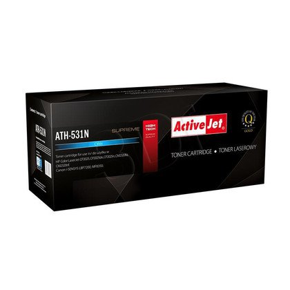 ActiveJet ATH-531N toner laserowy do drukarki HP (zamiennik CC531A)