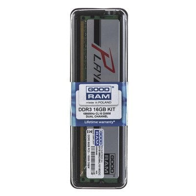 Goodram PLAY DDR3 DIMM 16GB 1866MT/s (2x8GB) SILVER