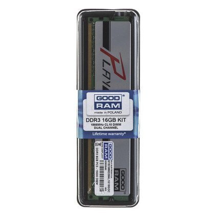 Goodram PLAY DDR3 DIMM 16GB 1866MT/s (2x8GB) SILVER