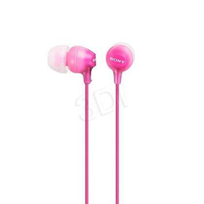 Słuchawki douszne Sony MDR-EX15LPPI (Różowy)
