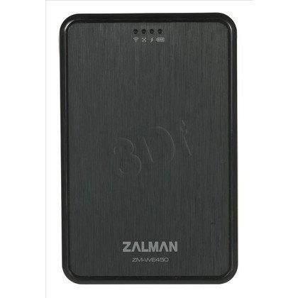 """OBUDOWA POWERBANK ZALMAN ZM-WE450 SATA 2,5"""" USB3.0 WiFi b/g/n CZARNA"""