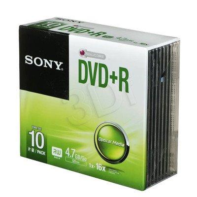 DVD+R Sony 10DPR47SS 4,7GB 16x