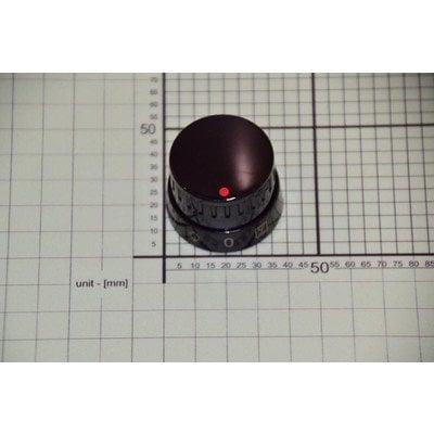 Pokrętło funkcji piekarnika scandium 15 A 10553 czarne (9062566)