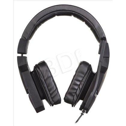 Słuchawki wokółuszne z mikrofonem OZONE BLAST ST (Czarny)