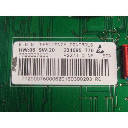 Moduł elektroniczny skonfigurowany do pralki (234695)