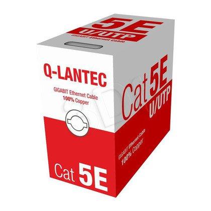 Q-LANTEC kabel UTP kat.5e PVC KIU5PVC305NC 305m szary