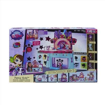 LPS LITTLEST PET SHOP HOTEL PAWZA HASBRO B1240