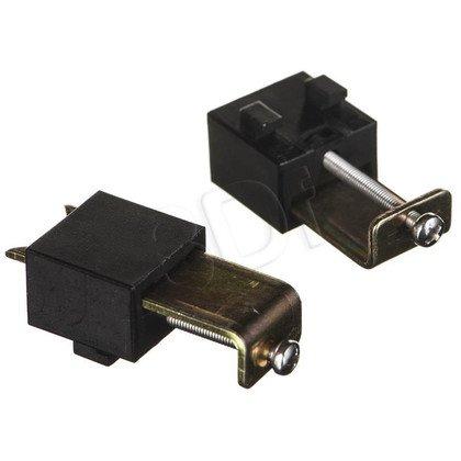 Bachmann 338.0203 CONI - kaseta do wbudowania srebrno-szara RAL9006 krótka, wymiary zewnętrzne 248x151 mm, wymiary montażowe 237x139 mm