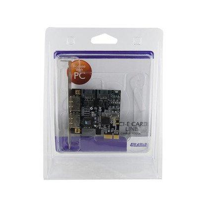 KONTROLER PCI-E eSATA II x2 + SATA II x2