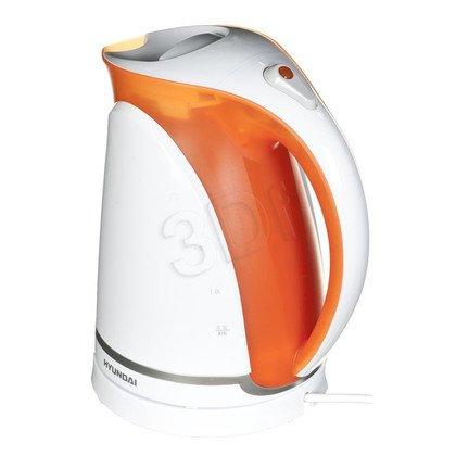 Czajnik elektryczny Hyundai VK608O (2l 2000W Biało-pomarańczowy)