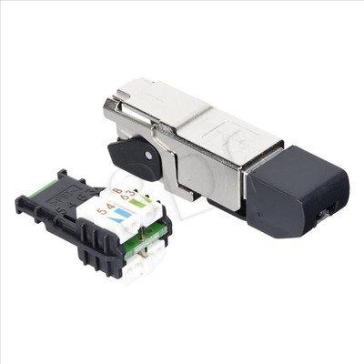 TELEGARTNER Wtyk na drut MFP8 STX RJ45 cat.6A FTP AWG 24/1-22/1,