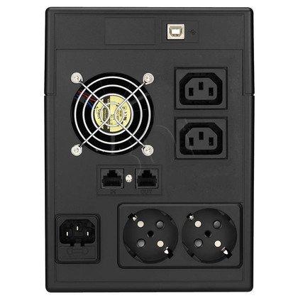 LESTAR UPS MC-1500SU 1500VA AVR 2XSCH + 2XIEC USB