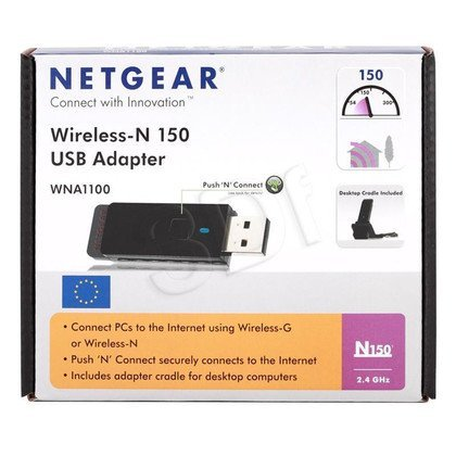 NETGEAR [ WNA1100 ] Wireless-N USB 2.0 Adapter up to 150Mbps 802.11n