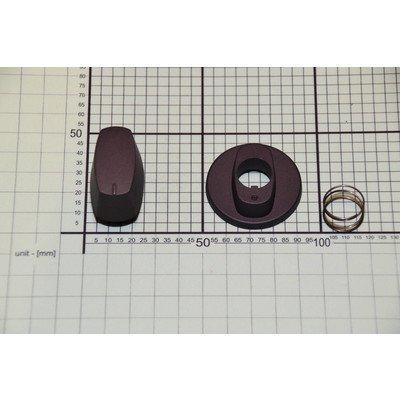 Pokrętło czarne mat (1031031)