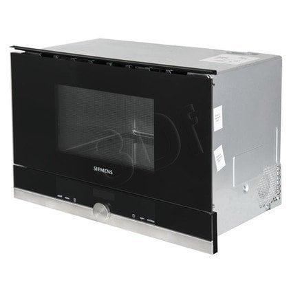 Kuchenka mikrofalowa Siemens BF634RGS1 (900W/Stalowo-Czarny)