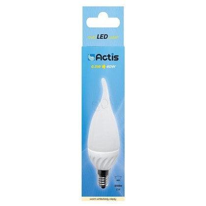 LED ACTIS ACS-DS2014CF Płomyk 510lm 6,5W E14 b.ciep