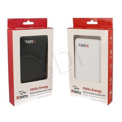 XBLITZ POWER BANK ENERGY 1000mAh BIAŁY
