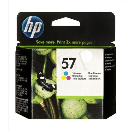 HP Tusz Kolor HP57=C6657AE, 400 str., 17 ml