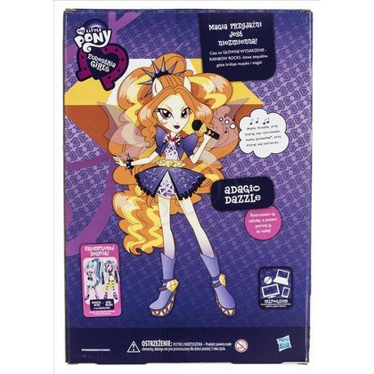 MLP MY LITTLE PONY EQUESTRIA GIRLS PIOSENKARKA A6683