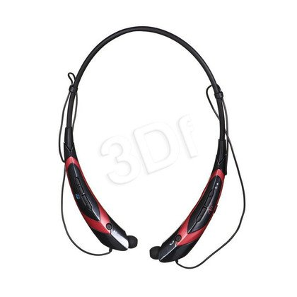 Słuchawki douszne z mikrofonem ART AP-B21 (Czarno-czerwony Bluetooth)