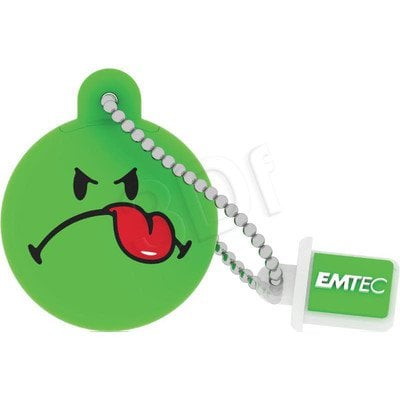 Emtec Flashdrive Smiley World 8GB USB 2.0 zielony