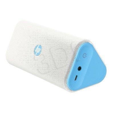 Głośnik bezprzewodowy HP Roar Wireless Speaker biało-niebieski