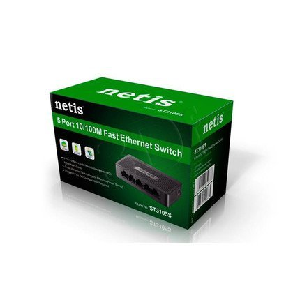 NETIS SWITCH 5-PORT 100MB ST3105S