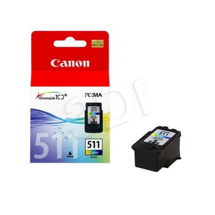 CANON Tusz Kolor CL-511=CL511=2972B001, 244 str., 9 ml