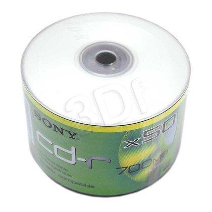 CD-R SONY 700MB/80MIN X48 SZPINDEL 50SZT