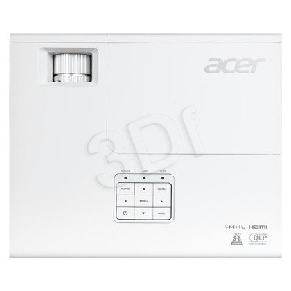 PROJEKTOR ACER P1173 DLP SVGA 3000 ANSI 17000:1 HDMI 2kg