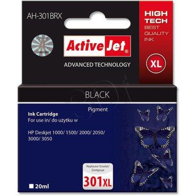 ActiveJet AH-301BRX (AH-563) tusz czarny do drukarki HP (zamiennik HP 301XL CH563EE)