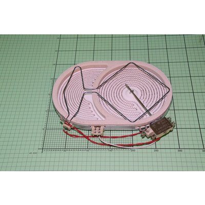 Płytka grzejna cer 170x265S 2400W 230V (8018898)