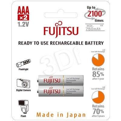 FUJITSU WHITE R03/AAA 750 MAH – 2 SZT BLISTER