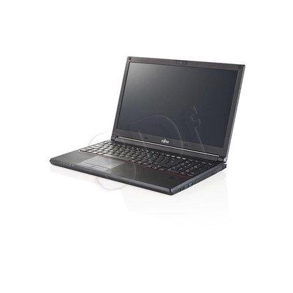 "Fujitsu LIFEBOOK E556 i3-6100U 4GB 15,6"" FHD 500GB HD 520 Win7P W10P Czarny 1 y"