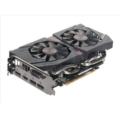 ASUS GeForce GTX 960 2048MB DDR5/128bit DVI/HDMI/DP PCI-E (1317/7200) (wer. OC - STRIX) (wentylator DirectCU II)