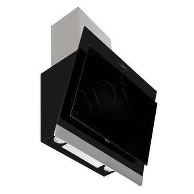 Okap Kominowy Bosch DWK06G660 (Czarny 600m3/h 598mm)