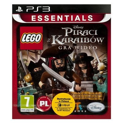 Gra PS3 LEGO Piraci z Karaibów Essentials