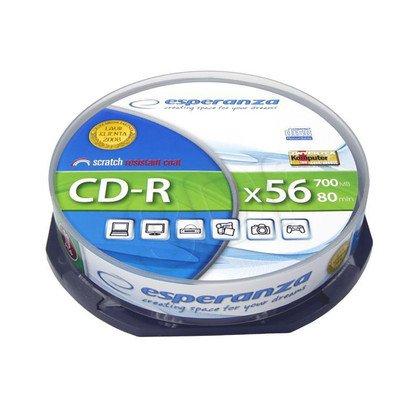 CD-R Esperanza 700MB/80MIN 52xSpeed (Cake 10szt)