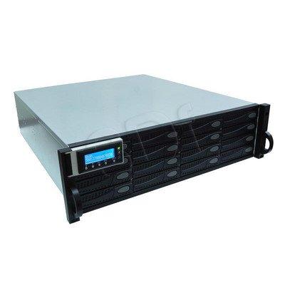 QSAN J300Q-D316 - półka dyskowa JBOD, 32TB (16 x 2TB SAS 7k2rpm), 3U, podwójny kontroler