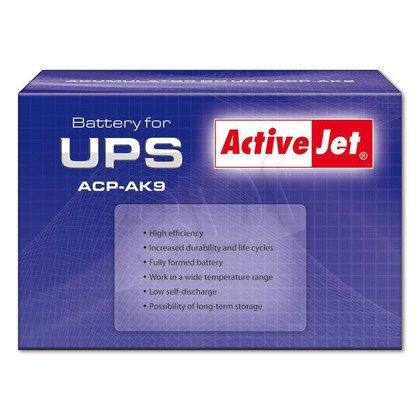 ACP-AK9 ActiveJet Akumulator UPS 12V 9Ah typ:CSB