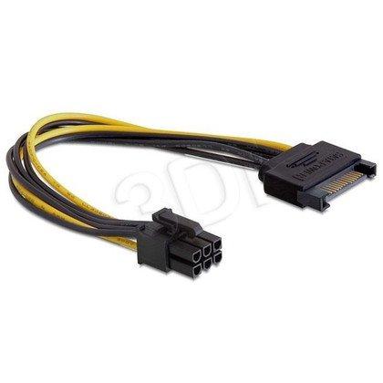 GEMBIRD KABEL ZASILAJĄCY SATA -> PCI EXPRESS 6 PIN 0.2 M