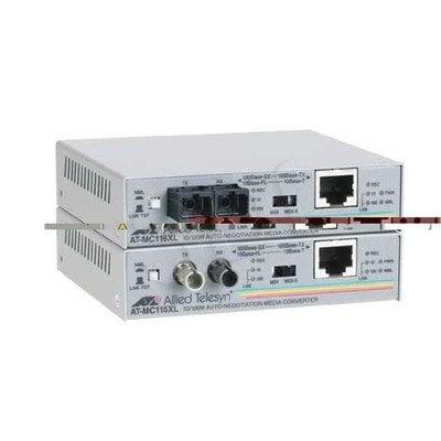 Allied Telesis (AT-MC116XL) 10/100TX to 10FL/100SX SC Media Converte 850nm