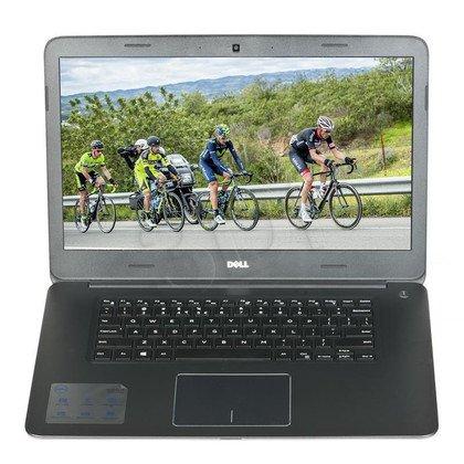 """Dell Inspiron 7548 i5-5200U 6GB 15,6"""" HD 500GB HD5500 Win8.1 Srebrno-czarny 2Y NBD (WYPRZEDAŻ-Produkt uszkodzony-nie uruchamia się. Komplet wypos"""