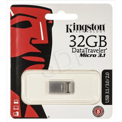 Kingston Flashdrive DTMC3/32GB 32GB USB 3.1 Stalowy