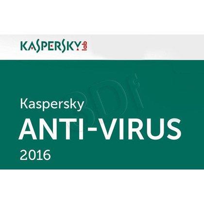 Kaspersky Anti-Virus 2016 ESD 2D/12M